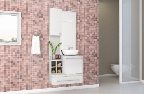 Gabinete Para Banheiro Ravenna